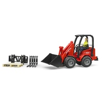 Bruder - Shaffer Compact Loader with Figure & Accessories 02191