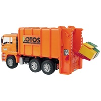 Bruder - MAN TGA Rear Loading Garbage Truck 02762