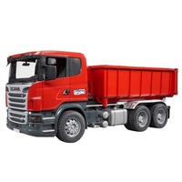 Bruder - Scania R-Series Tipping Container Truck 03522
