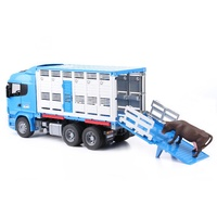 Bruder - Scania R-Series Cattle Transportation Truck 03549