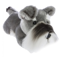 Bocchetta - Scoobie Schnauzer Lying Plush Toy 28cm