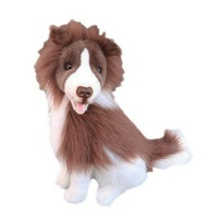 Bocchetta - Brandy Border Collie Plush Toy 38cm