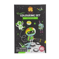 Tiger Tribe - Neon Colouring Set - Outer Space