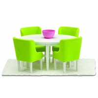 Lundby - Smaland Dining Room Set Green