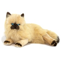 Bocchetta - Violet Himalayan Cat Lying Plush Toy 38cm