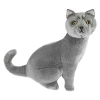 Bocchetta - Greyson Russian Blue Cat Plush Toy 35cm