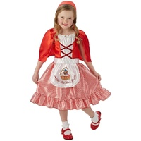 Rubies - Red Riding Hood Costume (Ages 5-6)