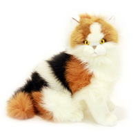 Bocchetta - Alfio Calico Cat Plush Toy 33cm