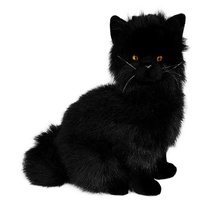 Bocchetta - Crystal Black Cat Plush Toy 34cm