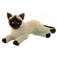 Bocchetta - Blossum Siamese Cat Lying Plush Toy 30cm