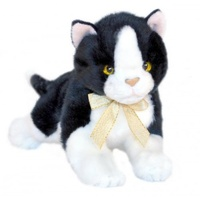Bocchetta - Mango Black & White Cat Plush Toy 23cm
