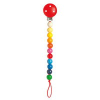 Heimess - Pacifier Holder Rainbow Beads