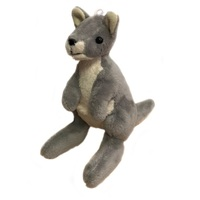 Bocchetta - Mini Kangaroo Plush Toy Grey 13cm