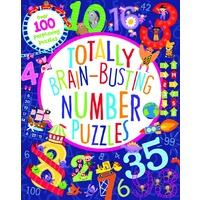 Lake Press - Totally Brain-Busting Number Puzzles