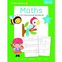 Lake Press - Little Genius Maths Workbook