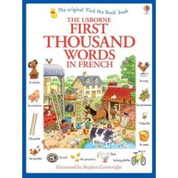 Usborne - First Thousand Words in French