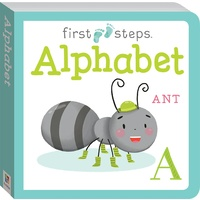 Hinkler - First Steps Board Book: Alphabet