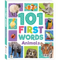 Hinkler - 101 First Words: Animals
