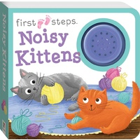 Hinkler - First Steps Noisy Kittens Sound Boook