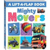 Hinkler - Lift-a-Flap: Mighty Movers