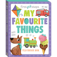 Hinkler - First Steps My Favourite Things Board Book