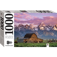 Hinkler - Moultan Barn, Wyoming, USA Puzzle 1000pc
