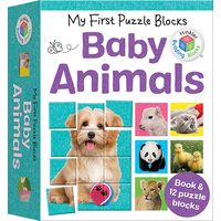 Hinkler - My First Puzzle Blocks: Baby Animals