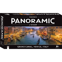 Hinkler - Grand Canal, Venice, Italy Panoramic Puzzle 1000pc