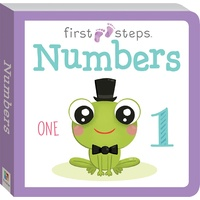 Hinkler - First Steps Board Book: Numbers