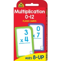 Hinkler - School Zone - Multiplication 0-12 Flash Cards