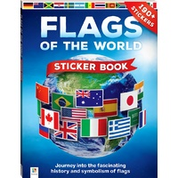 Hinkler - Flags of the World Sticker Book