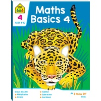 Hinkler - School Zone - Maths Basics 4 - I Know It Book