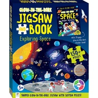 Hinkler - Glow-in-the-dark Jigsaw and Book – Exploring Space