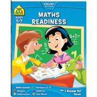 Hinkler - School Zone Maths Readiness I Know It Book