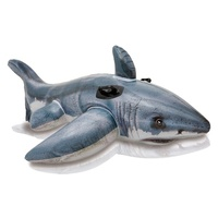Intex - Inflatable Great White Shark Ride-On