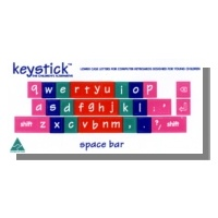 Lowercase Keyboard Stickers (5 pack)