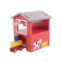 Bigjigs - Red Hay Barn