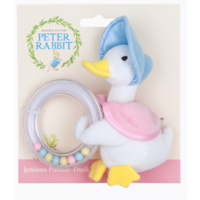 Peter Rabbit - Jemima Puddle-Duck Ring Rattle