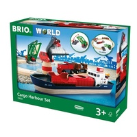 BRIO - Cargo Harbour Set (16 pieces)