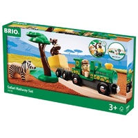 BRIO - Safari Railway Set (17 pieces)