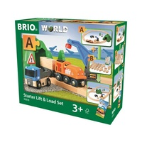 BRIO - Starter Lift & Load Set (19 pieces)