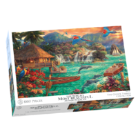Crown & Andrews - Chuck Pinson, Island Life Puzzle 1000pc