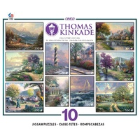 Ceaco - Thomas Kinkade Collector's Edition 10 Puzzle Pack