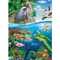 Cobble Hill - Earth Day Family Puzzle 350pc