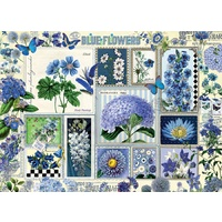 Cobble Hill - Blue Flowers Puzzle 1000pc