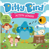 Ditty Bird - Action Songs Board Book