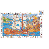 Djeco - Observation Puzzle Pirates 100 pieces