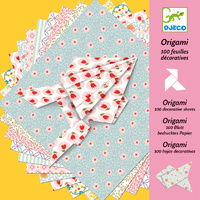 Djeco - Origami 100 Decorative Sheets