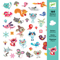 Djeco - Small Friends Stickers