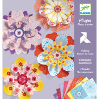 Djeco - Folding Flowers to Create